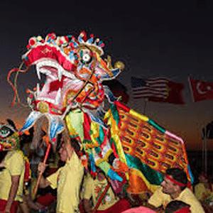chinese dragon shinju matsuri