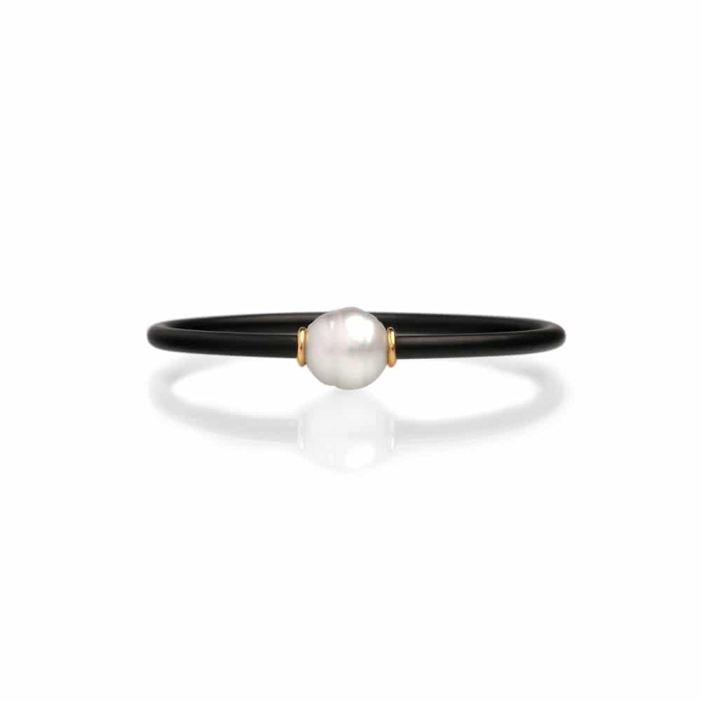 South Sea Pearl Neoprene Bracelet
