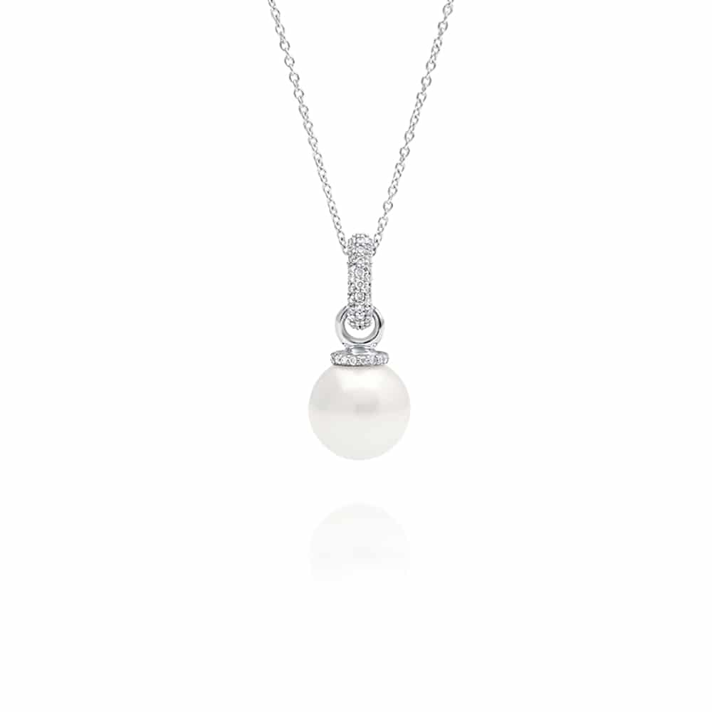 South Sea Pearl Stella Diamond Pendant